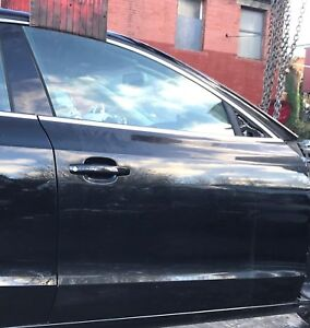 GENUINE 2011-2017 AUDI A5 SPORTBACK O/S/F DRIVER SIDE FRONT DOOR IN BLACK