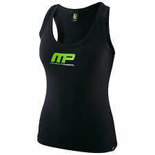 MUSCLEPHARM WOMENS MEDIUM GRAPHIC VESTS SLEEVELESS TOP GYM FITNESS TRAINING LADY