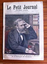 ?Le petit Journal 7/06/1896; Mr Le Marquis de Noailles, Ambassadeur de France