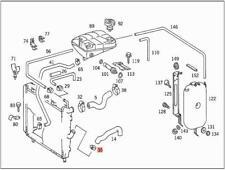 Genuine Mercedes Hose Clamp 5pcs SMART (BBDC) 601 611 0069970590