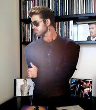 George Michael Display Stand Up Standee NEW Freedom Listen Without Prejudice