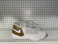 Nike Flare 2 HC Serena Williams Womens Athletic Tennis Court Shoes Size 10 Gold