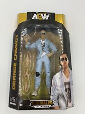 NEW AEW Wrestling Unrivaled Series 3 Orange Cassidy Action Figure #21 In Hand