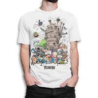 Studio Ghibli Combo T-shirt, Hayao Miyazaki Tee, Men's Women's All Sizes