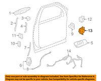 GM OEM-Door Hinge-Lower Right 20969646