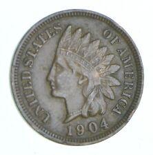 XF+ 1904 Indian Head Cent - Razor Sharp *875