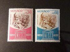 MONACO - 1966 - yvert 700/701 - UNESCO - neufs**