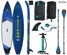 AZTRON NEPTUNE 12.6 Double Double SUP Stand up Paddle Board Set Angebot
