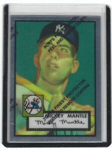 1996 TOPPS FINEST MICKEY MANTLE COMMEMORATIVE SET 1-19