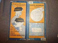 carte michelin 56 paris reims 1928
