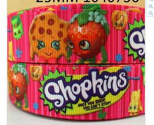 Shopkins Ribbon 1m long