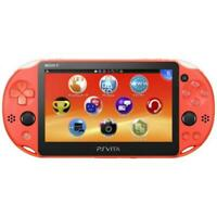 New PlayStation Vita Wi-Fi model Neon Orange Japanese Ver. F/S from Japan