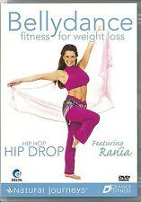BELLYDANCE FITNESS FOR WEIGHT LOSS HIP HOP HIP DROP DVD (BELLY DANCING)