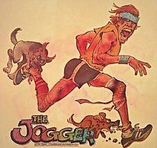 Original Vintage 1979 The Jogger Iron On Transfer by Mort Drucker Mad Magazine