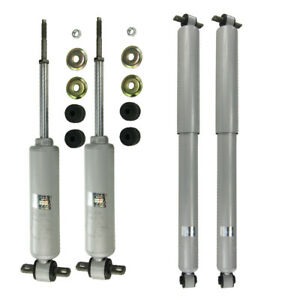 Front Rear Left Right Shocks for 88-99 Chevrolet C1500