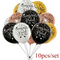 10pcs Graduation Balloons Congratulation High School Party Supplies Decoration
