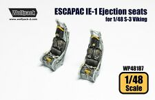 Wolfpack 1:48 ESCAPAC Ejection Seats for S-3 Vikings Italeri Kit -Resin #WP48187
