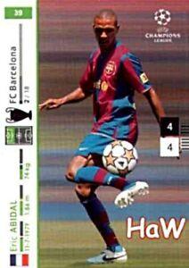 PANINI Champions League 2007/08 07 08 - Eric Abidal  Nr. 39 - F.C. Barcelona
