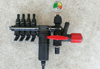 SPRAYER PRESSURE CONTROL VALVE ON OFF 4 SECTION FOR TRACTOR MOUNTED   *FREE DPD*