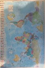 Bedroom Poster World Map Poster Print Large (A1)  60x90cm