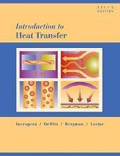 Introduction to Heat Transfer by Incropera, DeWitt, Bergman, Lavine [Hardcover]