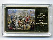 Polska,2016r. Arcydziela Malarstwa Polskiego, Bitwa pod Grunwaldem, Jan Matejko.