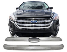 2017-2019 Ford Escape chrome grille insert grill overlay trim