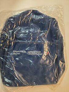 CANADIAN PACIFIC AIRLINES TRAVEL BAG NEW WITH SHOULDER STRAP.
