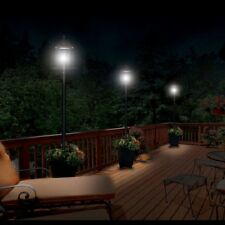 Exterior Lights Solar Patio Lamp Post Outdoor Decoration Garden Pots Planters