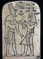Clearance Ancient  Egyptian God Horus Wall Fragement Antique Finish