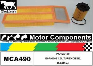 FILTER SERVICE KIT for FIAT  PANDA 150 199A9000  1.2L TURBO DIESEL 10/2013 on