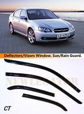 For Subaru Legacy IV Sd 2003-2009, Windows Visors Deflector Sun Rain Guard Vent