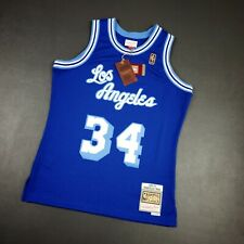 100% Authentic Shaquille O'Neal Mitchell Ness 96 97 Lakers HWC Jersey Size 40 M