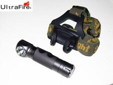 New UltraFire UF-H6 Cree XP-L LED 900 Lumens LED Headlight Flashlight ( 18650 )