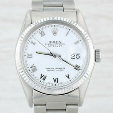 Rolex Oyster Datejust Watch - Stainless Steel 16014 1984 Warranty Mechanical