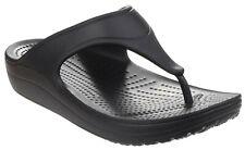 Crocs Womens Sloane Platform Womens Flip Black Size UK 5 EU 37.5