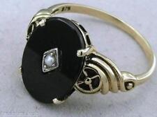 Ring Onyx Vintage & Antique Jewellery