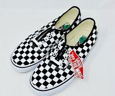 Vans Authentic Lace Up Checkerboard Shoes Sneakers Size 7.5 Men's 9.0 Women's