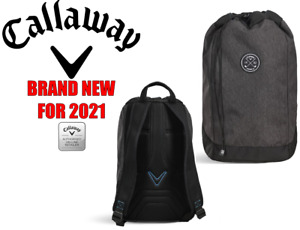 CALLAWAY CLUBHOUSE DRAWSTRING BACKPACK ** NEW FOR 2021 **