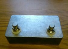 Two Button Foot Switch For Peavey, Marshall, Crate, Carvin, Orange, Laney