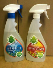 2 Bottles,Air cleaner, Surface Cleaner, Antibacterial,Natural,Sustainable,orange