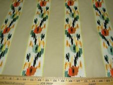 """~26 3/8 YDS~STROHEIM~""""SURREY BLOOM""""~EMBROIDERED UPHOLSTERY FABRIC FOR LESS~"""