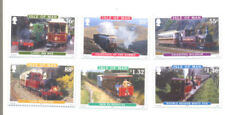 Mint Never Hinged/MNH Trains, Railroads Manx Regional Stamp Issues