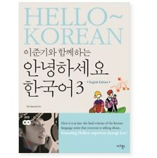 Hello Korean With LeeJunKi Vol.3 Learning Hangul Book+ Audio DVD English Version