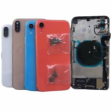 NEW Back Glass Housing Cover Frame Assembly For iPhone 8 Plus X XS Max XR 11 Pro