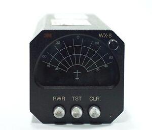 3M WX-8 STORMSCOPE  P/N 78-8041-7819-8 mit Zertifikat