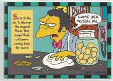 1994 Skybox The Simpsons Series 2 Smell-O-Rama chase card # 6 of 10