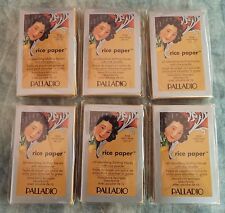 Palladio RICE PAPER OIL ABSORBING FACIAL TISSUES WARM BEIGE 6-PKS