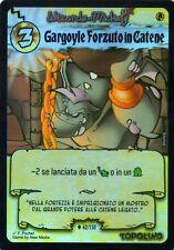 WIZARDS OF MICKEY Gargoyle Forzuto in Catene 62/150 FOIL ORIGINI ITA NEAR MINT