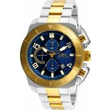Invicta Pro Diver 23407 Men's Blue Two-Tone Chronograph Date Analog Watch